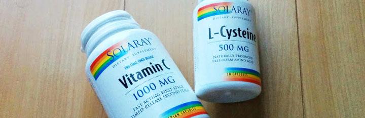 ビタミンC Lシステイン