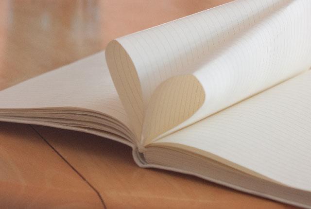 紙のハート