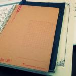 アラフォー主婦、生活を管理するために3冊のノート使い分け(2015年度)。