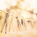 梅雨の季節、室内干しのお供にバイオ系洗剤「緑の魔女」のススメ。