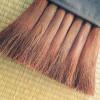 棕櫚(シュロ)ほうきを使うことによって、朝家事の段取りがスムーズに。