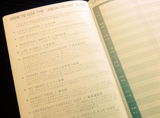 LIFE-ジブン手帳