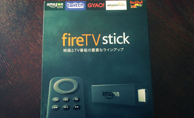 Amazon 「Fire TV Stick」