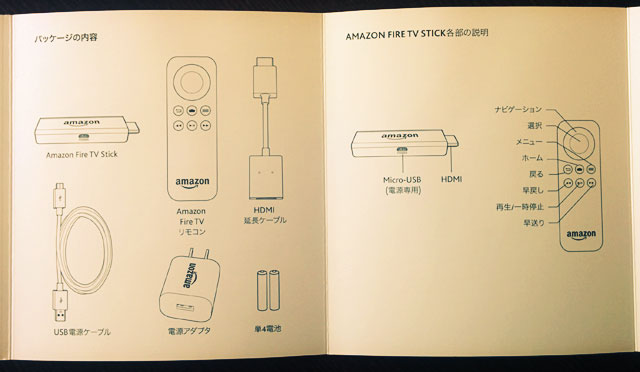 「Fire TV Stick」が