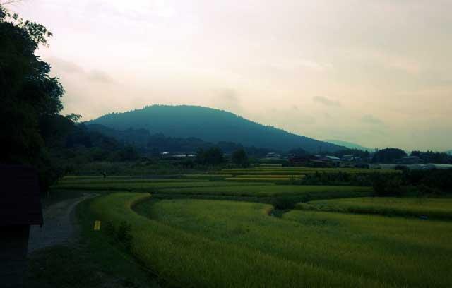 山の辺の道 三輪山
