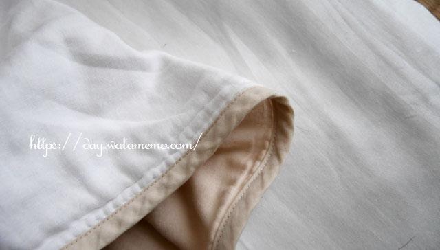 松並木のガーゼ寝具
