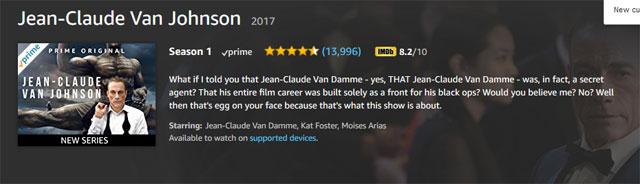 ジャン=クロード・ヴァン・ジョンソン