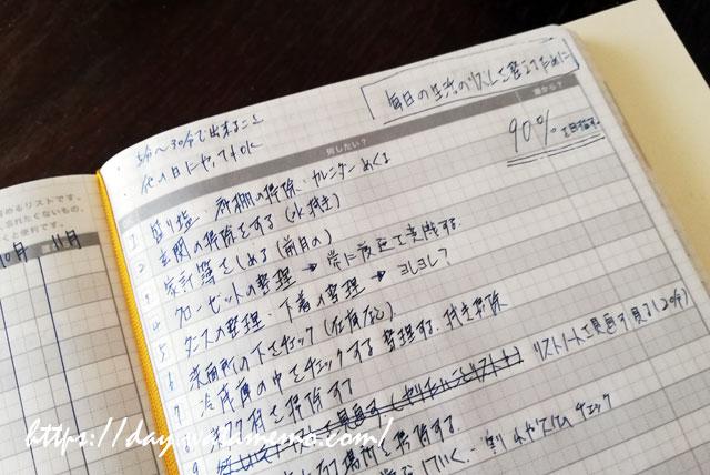 ひと月の家事リスト