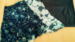 体型が変わらないのも困りもの、若き日に購入したスカート3枚を断捨離。