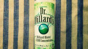 奇跡の水、ドクターウィラードの原液は乾燥性敏感肌にいいかもしれない件。