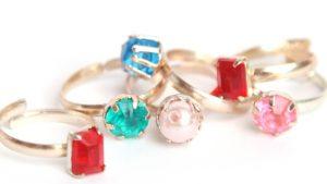 アラフォー主婦、所有している指輪は5個あるんだが。