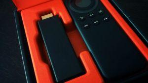 「Amazon Fire TV Stick」が到着、簡単&ラクラク接続後、視聴中。